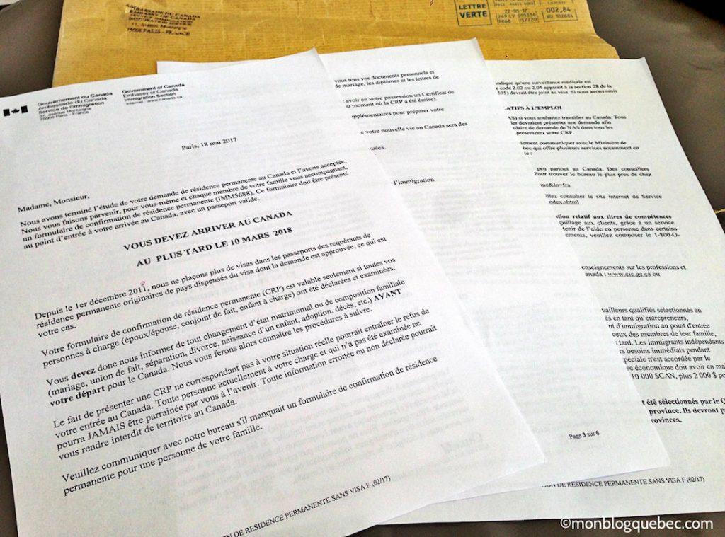 Immigrer au Québec Comment valider sa RP monblogquebec
