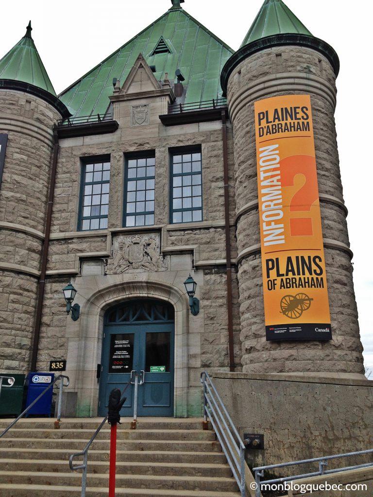 Découvrir Road Book à Québec Plaine d'Abraham monblogquebec