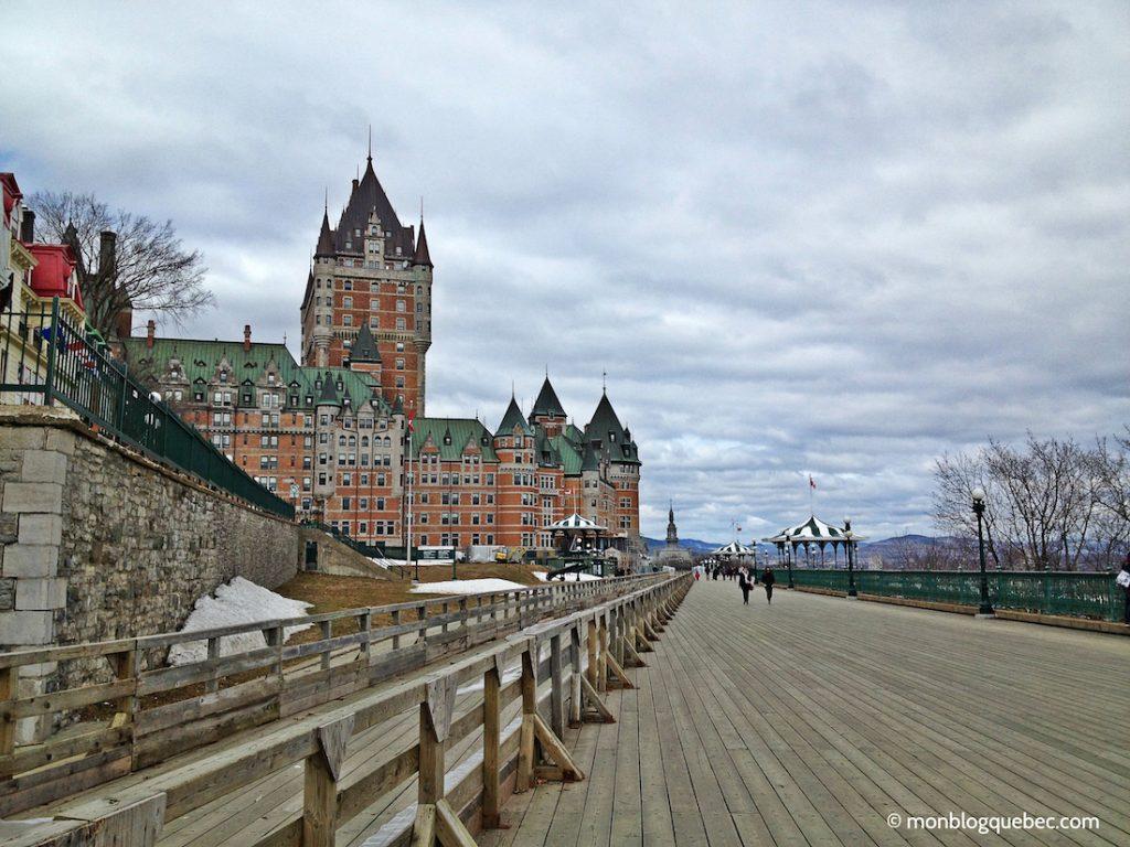 Découvrir Road Book à Québec Château Frontenac monblogquebec