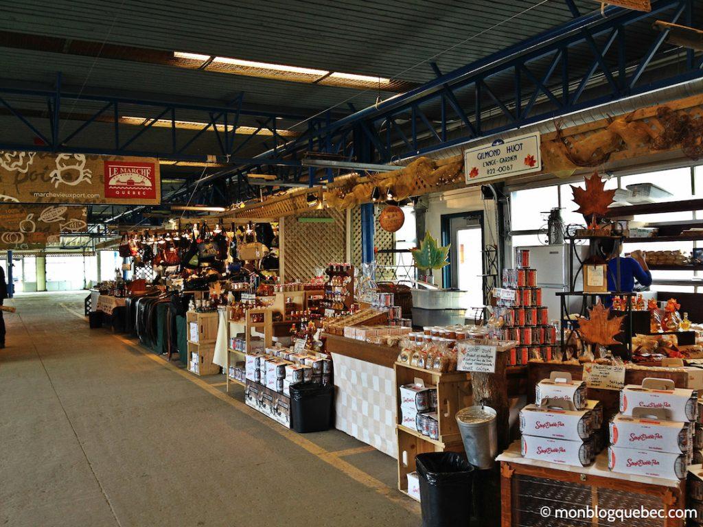 Découvrir Road Book à Québec Marché vieux port monblogquebec