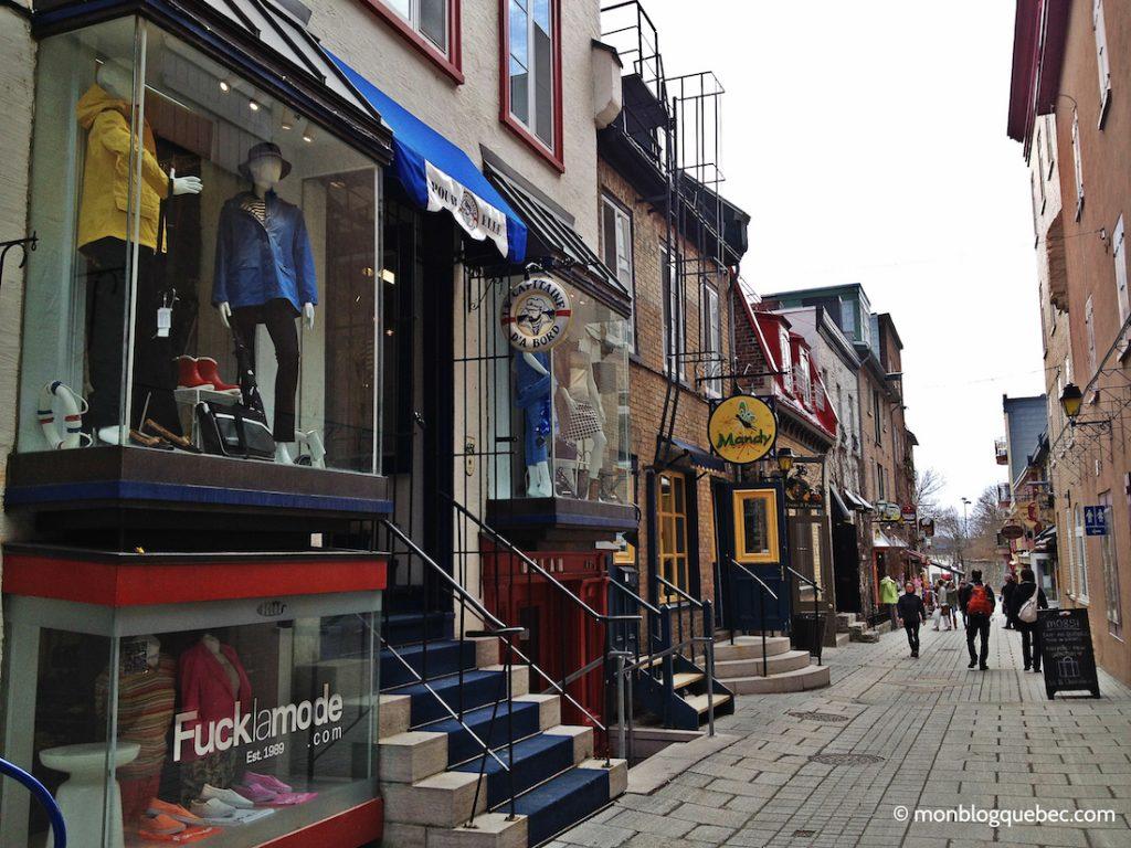 Découvrir Road Book à Québec Petit Champlain monblogquebec