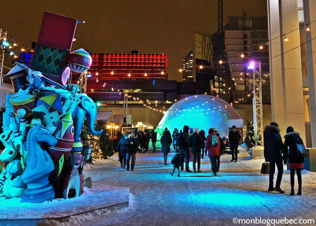 Nos coups de coeur Temps des fêtes Montreal monblogquebec