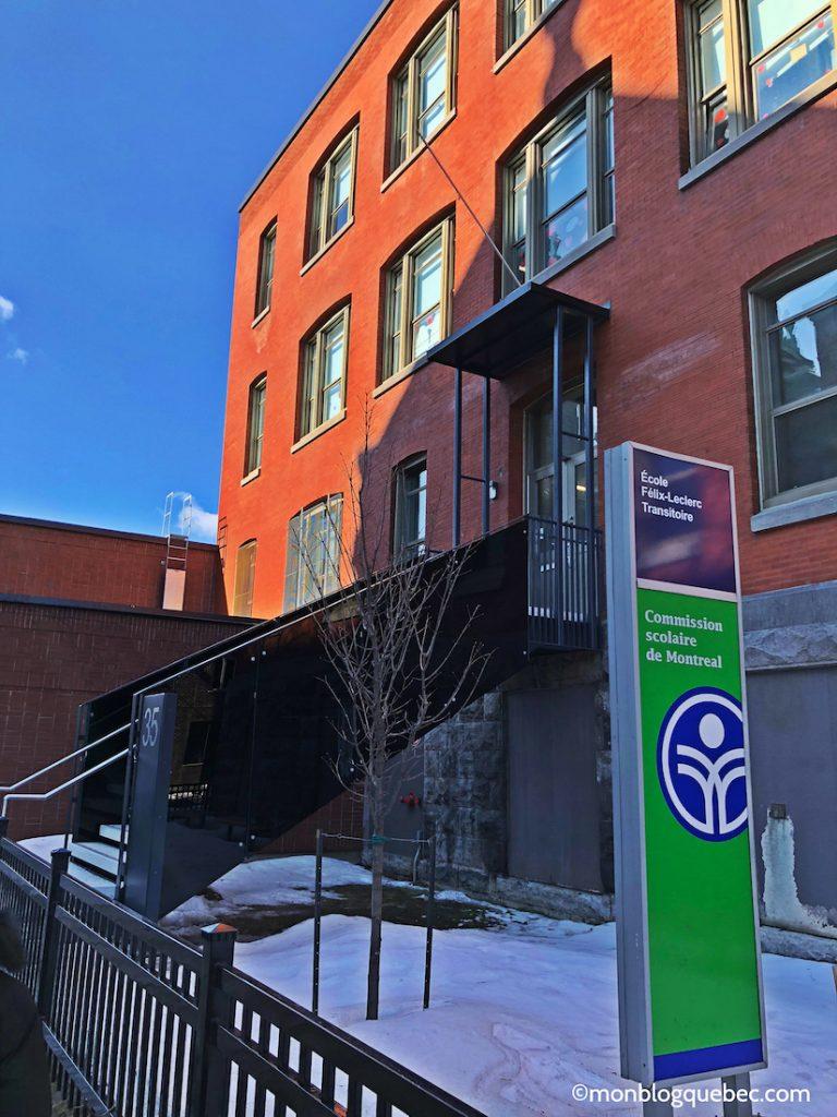 L'école au Québec école primaire Félix Leclerc