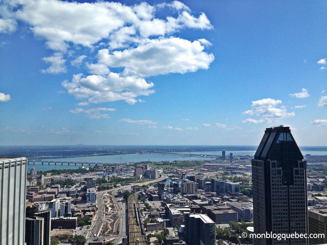 Top 5 des terrasses avec vue à Montréal monblogquebec vue 360 sur Montréal