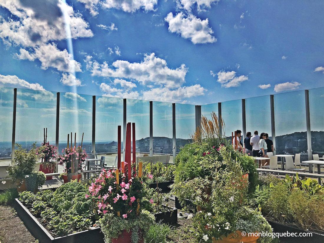 Top 5 des terrasses à Montréal monblogquebec Terrasse Observatoire Ville Marie