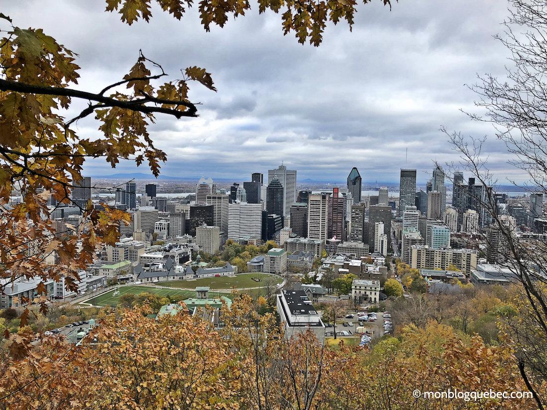 La saison des couleurs au Québec Montréal