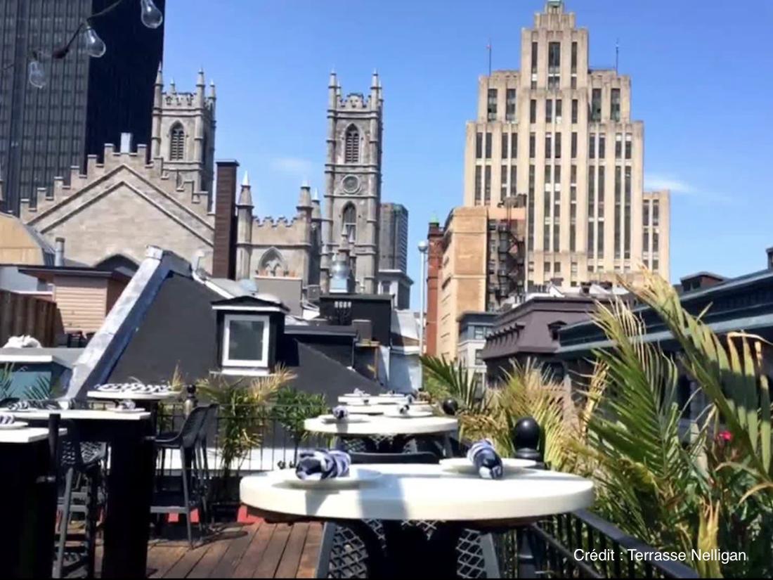Top 5 des terrasses avec vue a Montréal monblogquebec Terrasse Nelligan