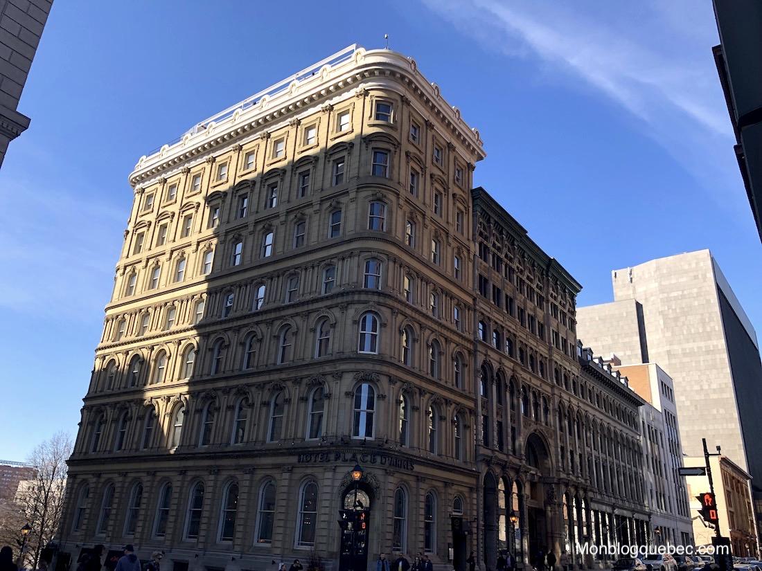 Top 5 des terrasses avec vue a Montreal monblogquebec Terrasse hôtel Place d'Armes