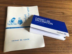 Systeme de santé équivalence des vaccins France Québec