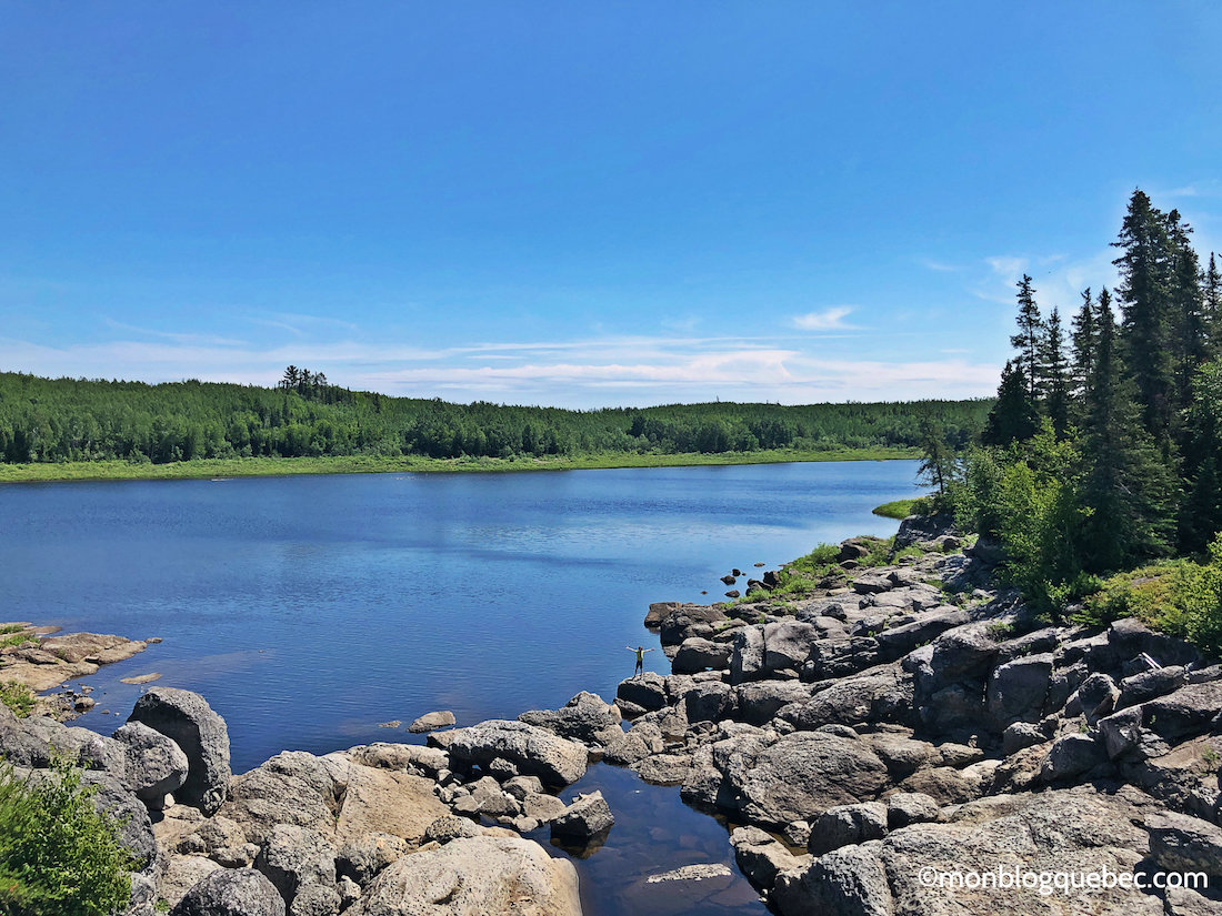 Voyage au Saguenay Lac Saint-Jean Paysage sauvage