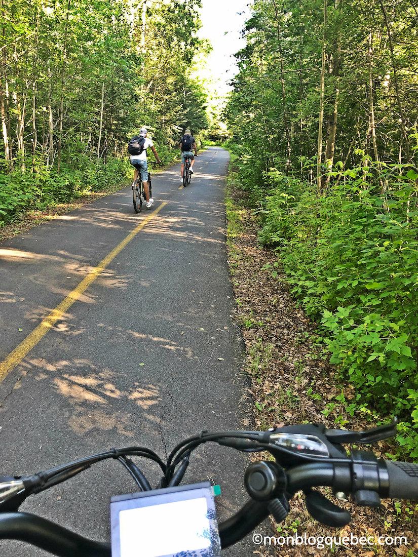 Voyage au Saguenay Lac Saint-Jean Balade en vélo