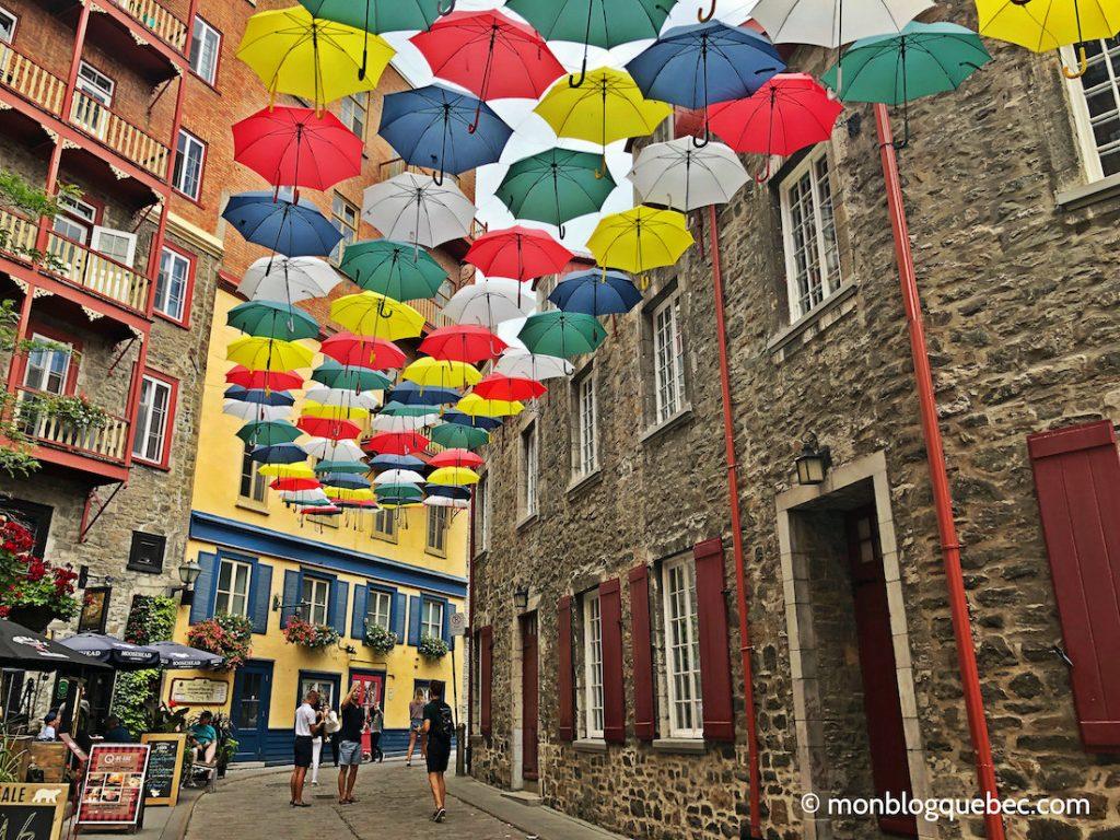 Québec les ruelles