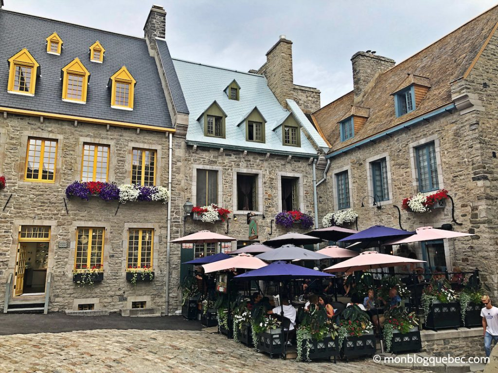 Québec place historique