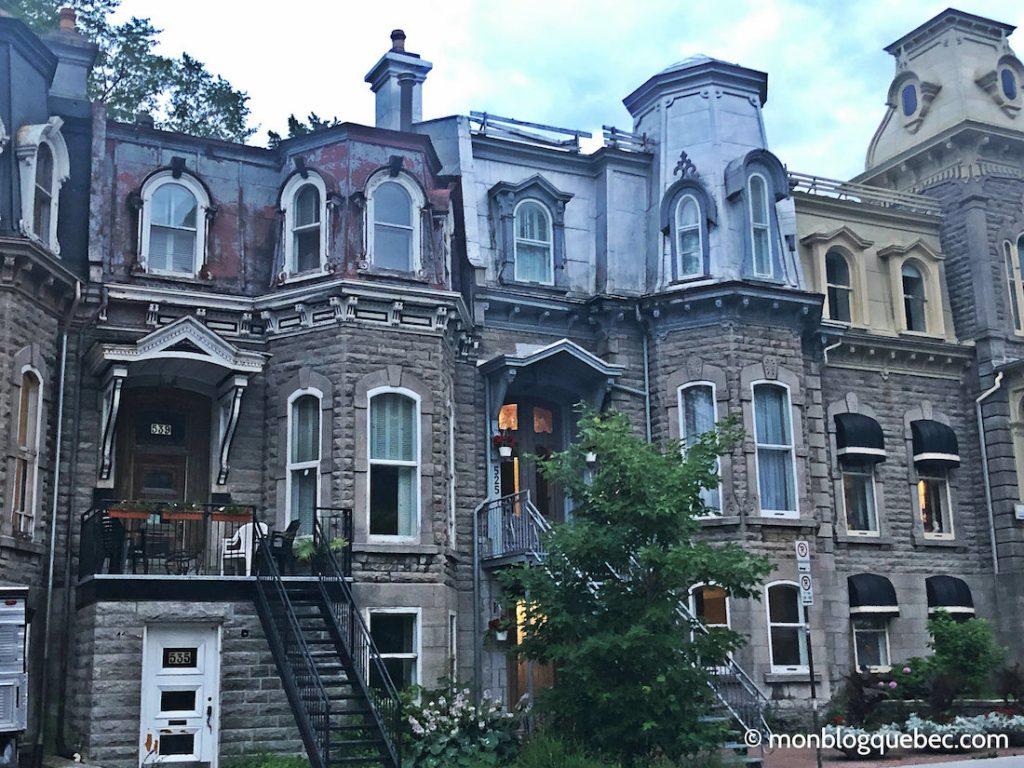 Québec quartier animé