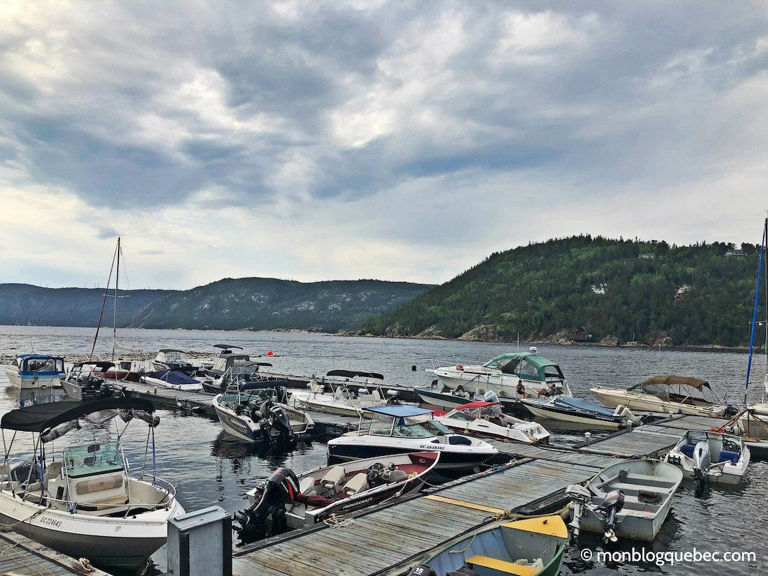 Voyage au Saguenay Lac Saint-Jean port Anse à la Roche