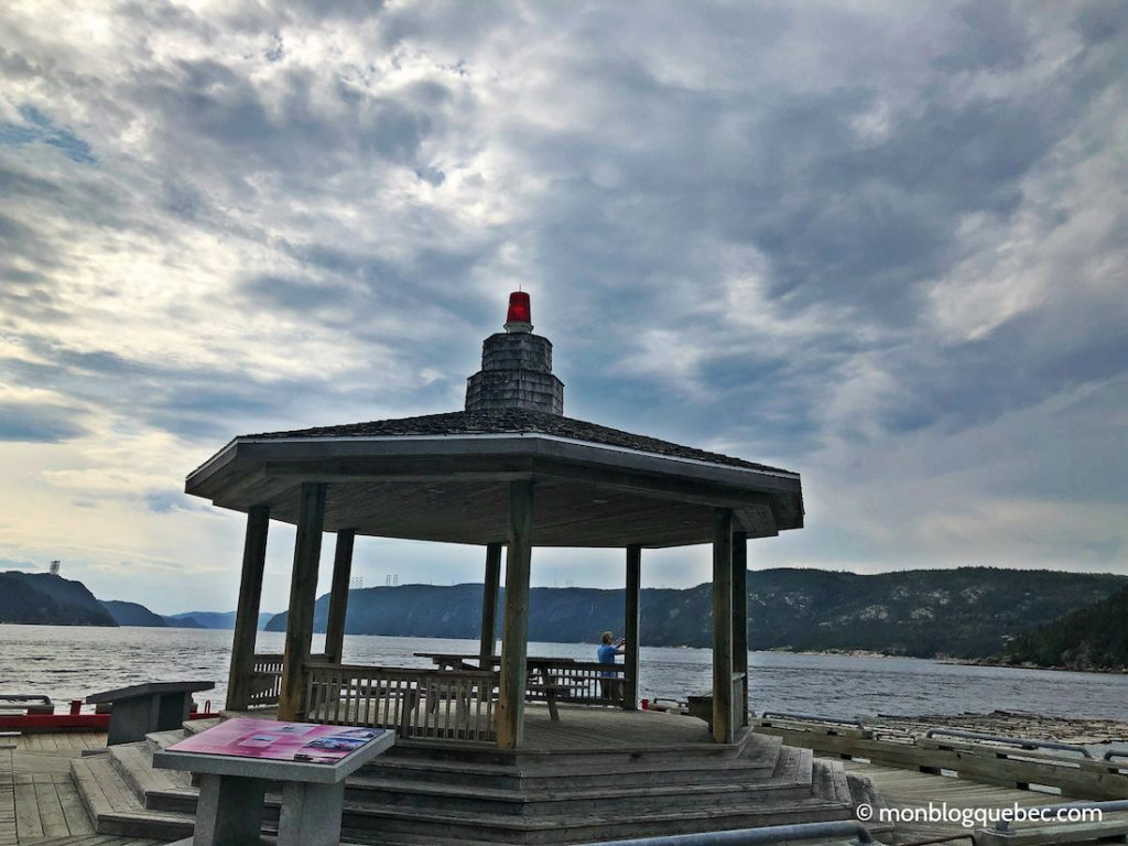 Voyage au Saguenay Lac Saint-Jean Anse à la roche