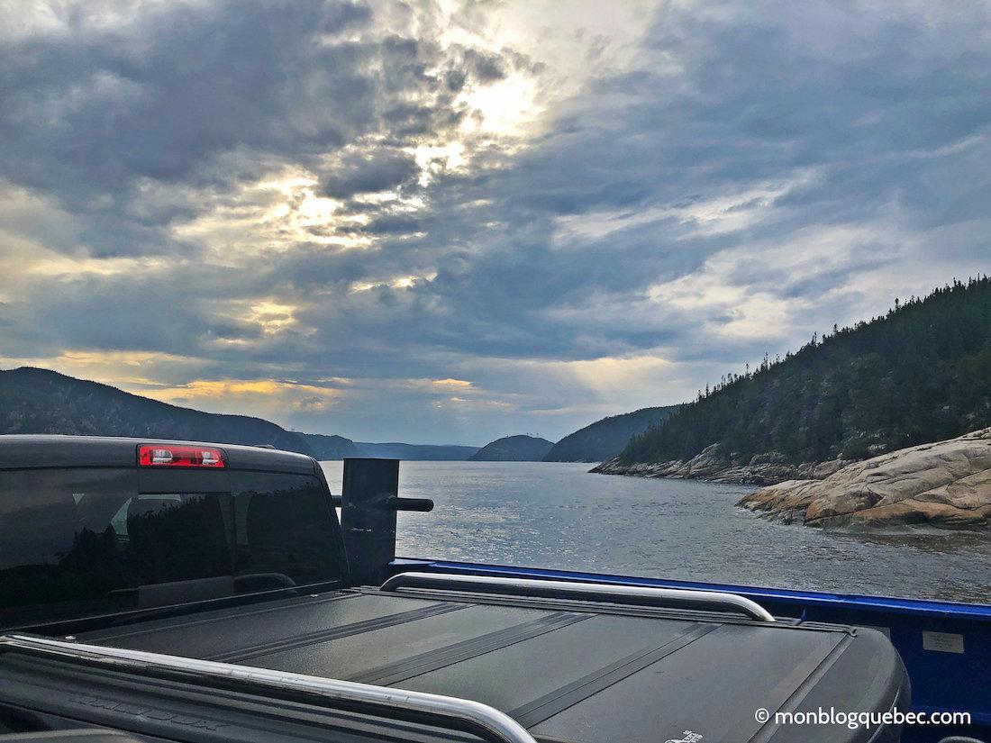 Voyage au Saguenay Lac Saint-Jean Traversier Tadoussac