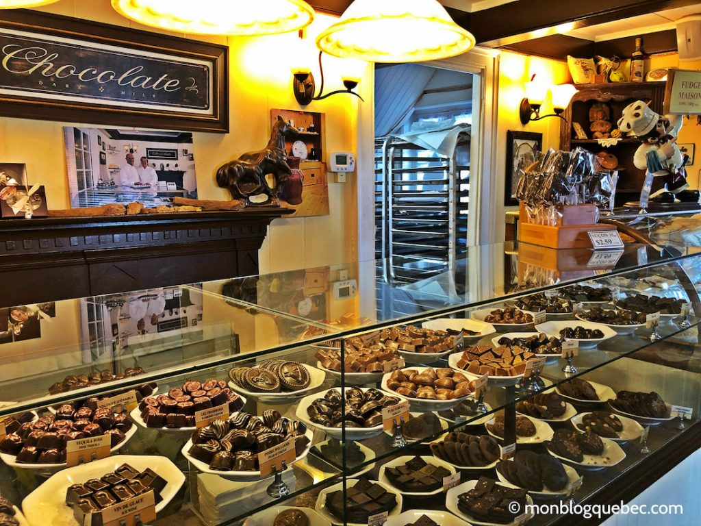 Les éboulements chocolaterie