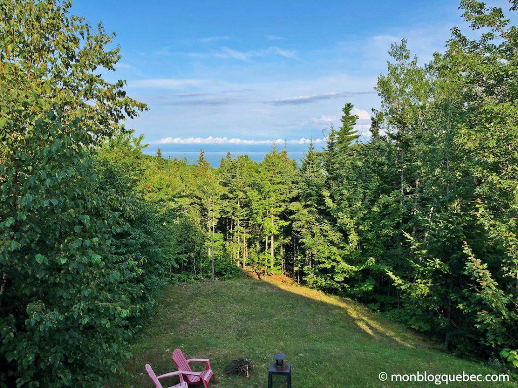 Voyage au Saguenay Lac Saint-Jean Les éboulements