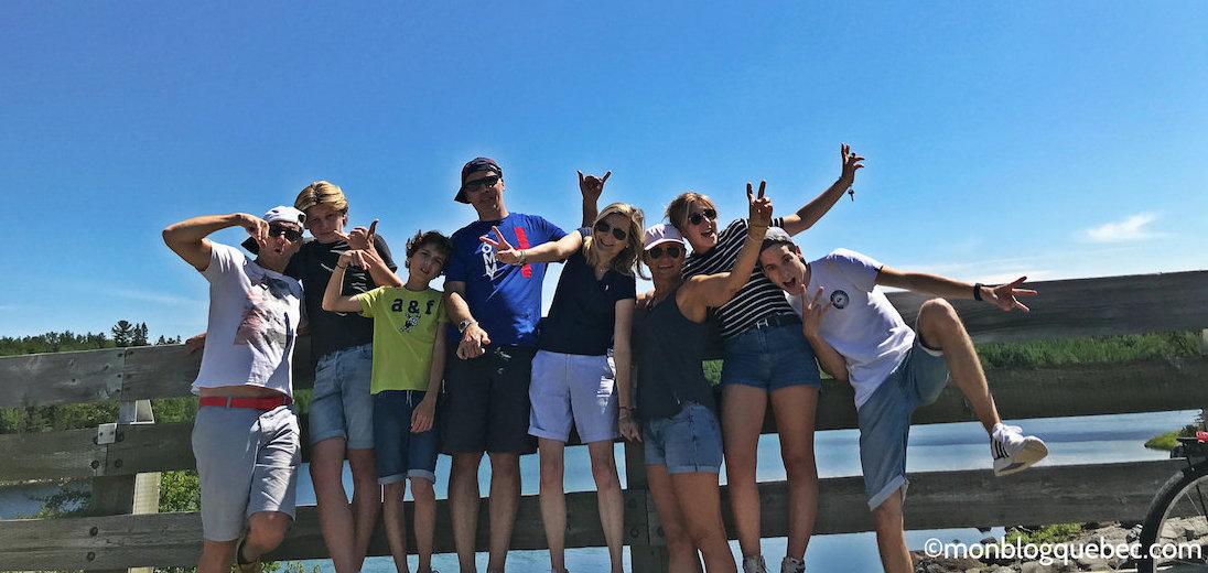 Vacances au Saguenay Lac St Jean entre amis