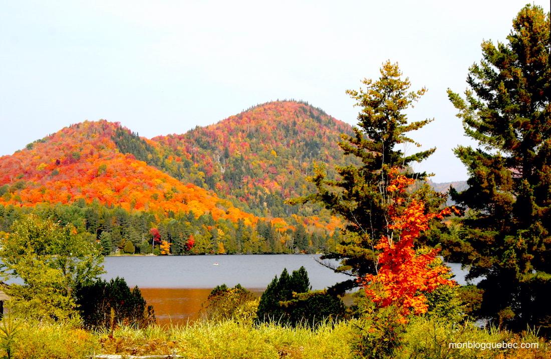 La saison des couleurs Route des lacs