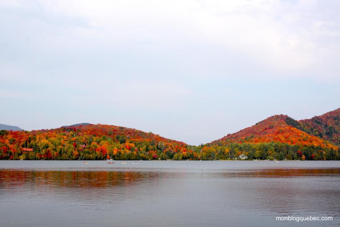 La saison des couleurs au Québec couleurs flamboyantes