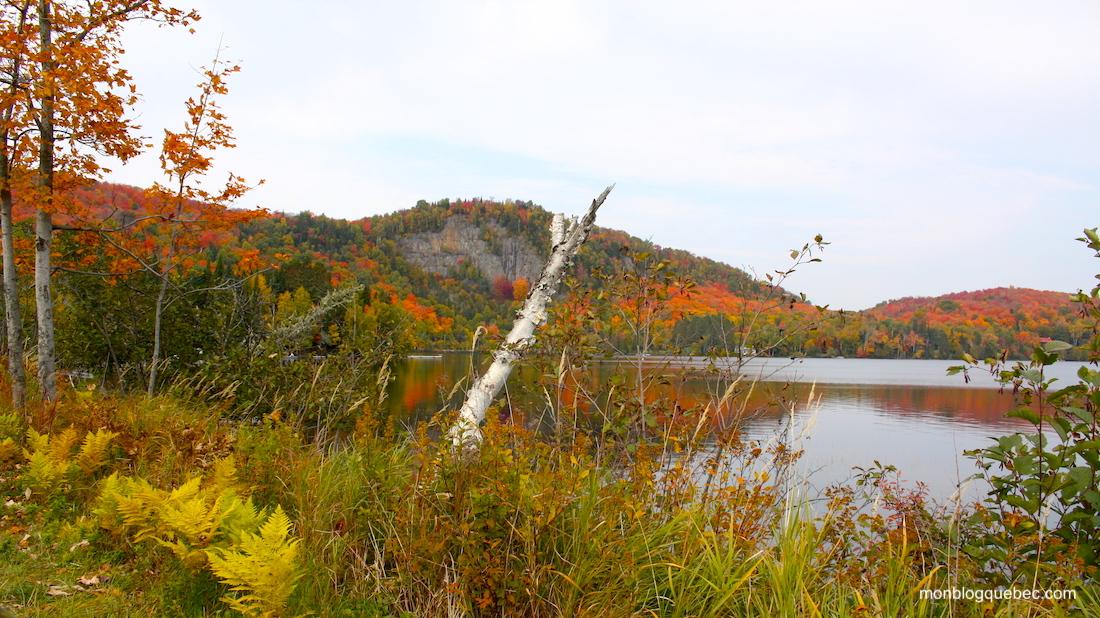La saison des couleurs au Québec Lac supérieur