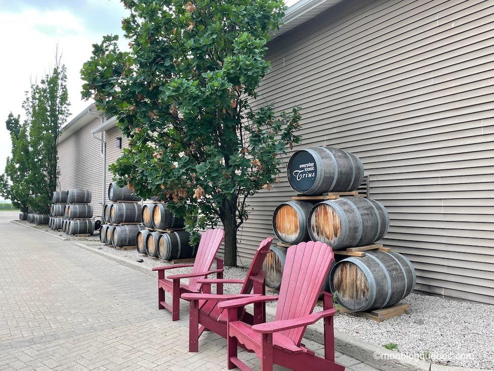 Incontournables en Ontario Vignobles Trius