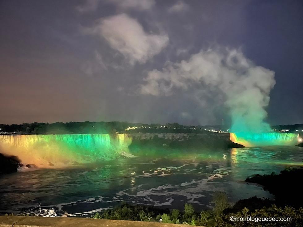 Incontournables en Ontario Chutes Niagara