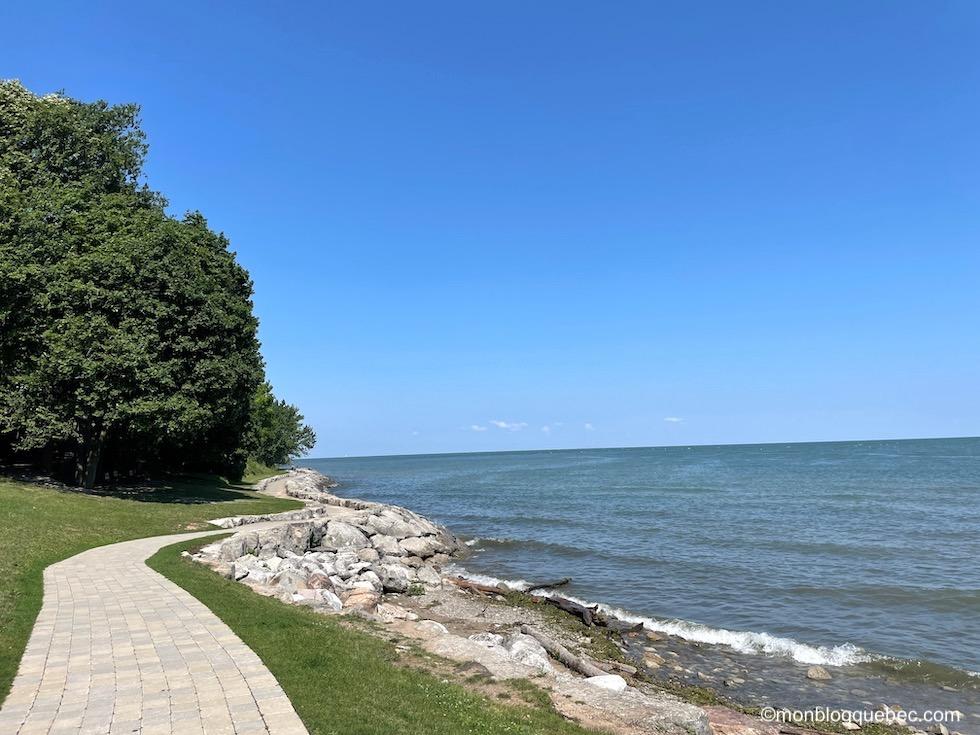 Incontournables en Ontario Niagara-on-the-lake Promenade du lac