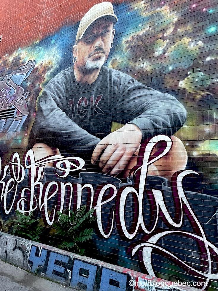 Incontournables en Ontario Toronto Graffiti Alley