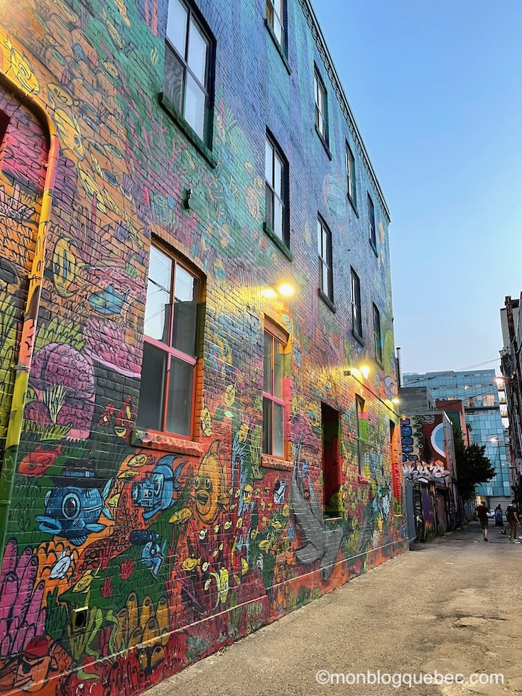 Incontournables en Ontario Toronto Graffiti Allay