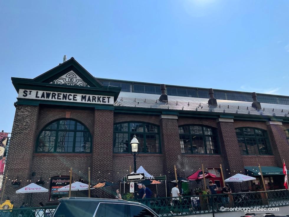 Incontournables en Ontario Toronto St Lawrence market
