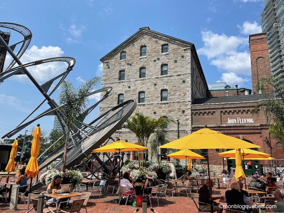 Incontournables en Ontario Toronto distillery district